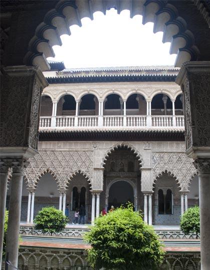 Reales Alcázares de Sevilla interior