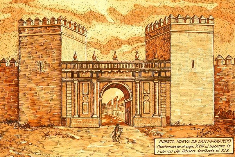 Puerta Nueva de San Fernando