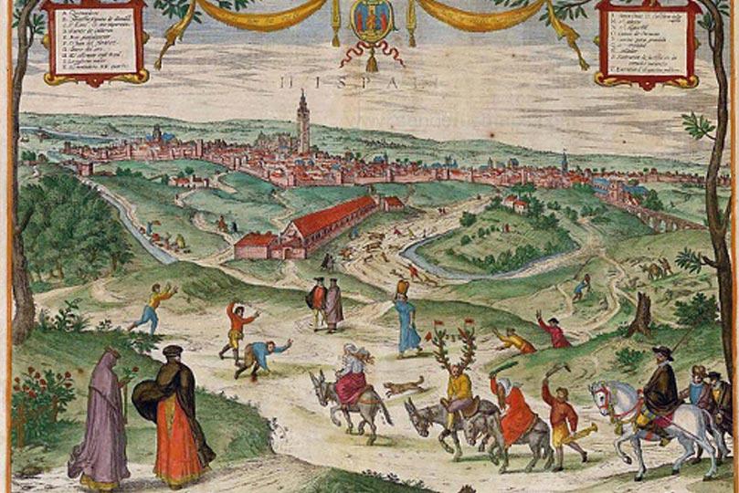 Pintura antigua de Sevilla